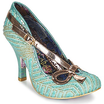 Shoes Women Heels Irregular Choice BUBBLES Green / Mint