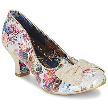 Shoes Women Heels Irregular Choice DAZZLE RAZZLE White