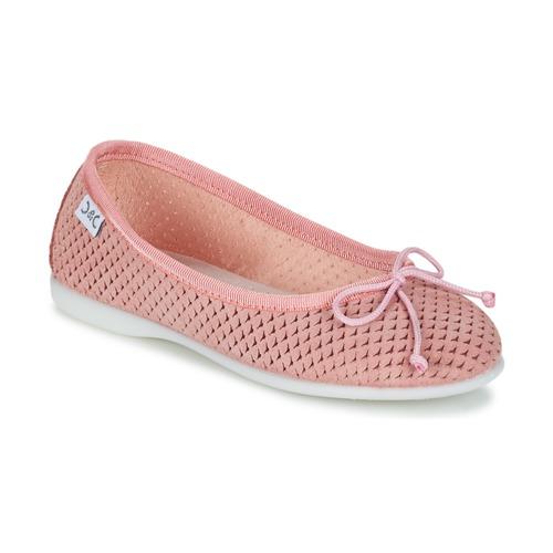 Shoes Girl Flat shoes Citrouille et Compagnie GERRAGO Pink