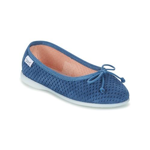 Shoes Girl Flat shoes Citrouille et Compagnie GERRAGO Blue