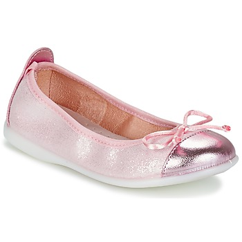 Shoes Girl Flat shoes Citrouille et Compagnie GRAGON Pink / Glitter