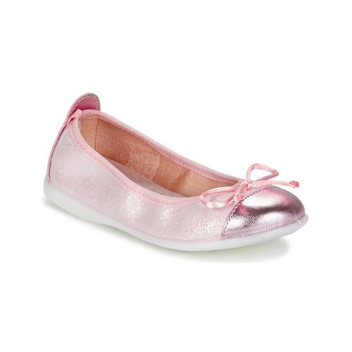 Shoes Girl Flat shoes Citrouille et Compagnie GRAGON Pink / Glitter