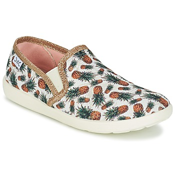 Shoes Girl Low top trainers Citrouille et Compagnie GAVOTA Printed / Pineappel