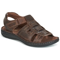 Shoes Men Sandals Casual Attitude GEFREY Brown