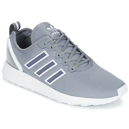 Shoes Men Low top trainers adidas Originals ZX FLUX ADV Grey