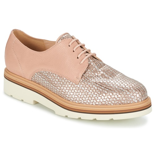 Shoes Women Derby Shoes Fericelli GRATY Pink / Nude