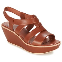 Shoes Women Sandals Camper DAMAS MEDIUM / Brown