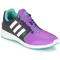 Shoes Children Low top trainers adidas Originals S-FLEX K Black / Purple