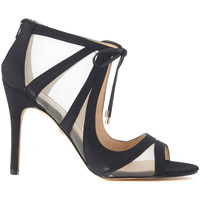 Shoes Women Heels Nina New York Sandalo  Cherie in raso e rete nero Multicolour