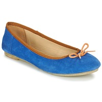 Shoes Women Flat shoes Kickers BAIE Blue / Orange