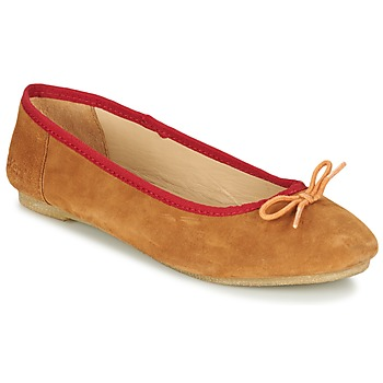 Shoes Women Flat shoes Kickers BAIE Brown / Clear / Orange