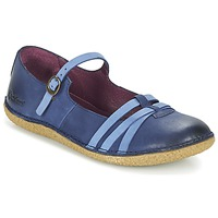 Shoes Women Flat shoes Kickers HIBOU MARINE / Blue