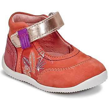 Shoes Girl Flat shoes Kickers BIMAMBO Orange / Fuschia / Pink