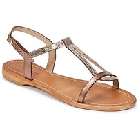 Shoes Women Sandals Les Tropéziennes par M Belarbi HAMAT Coppery / BRONZE