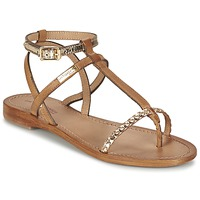 Shoes Women Sandals Les Tropéziennes par M Belarbi HILATRES Brown / Gold