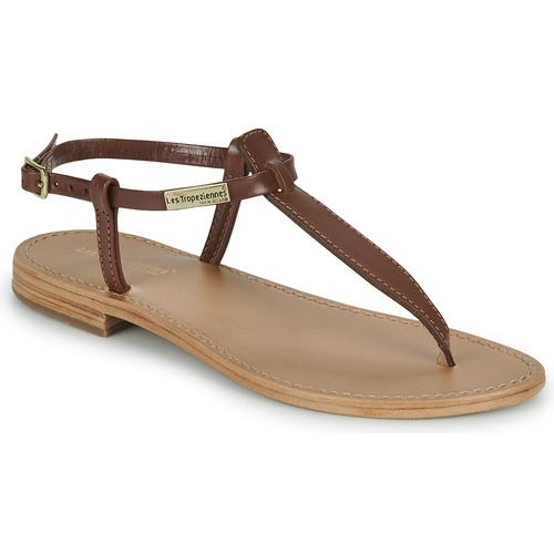 Shoes Women Sandals Les Tropéziennes par M Belarbi NARVIL Brown