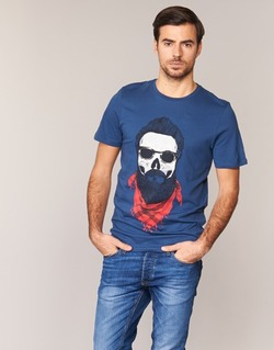 Clothing Men short-sleeved t-shirts Jack & Jones TRICK ORIGINALS MARINE