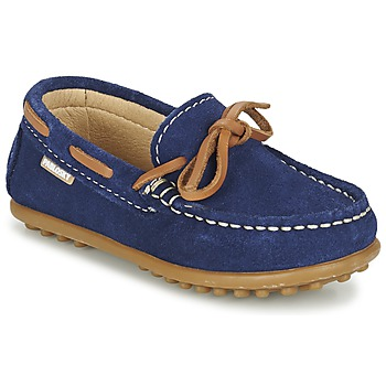 Shoes Boy Boat shoes Pablosky RACEZE Blue