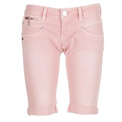 Clothing Women Shorts / Bermudas Freeman T.Porter BELIXA NEW MAGIC COLOR Pink