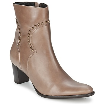 Shoes Women Ankle boots Betty London GRELOT Taupe