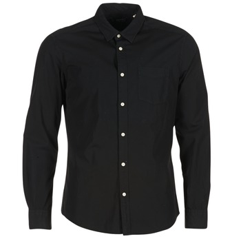 Clothing Men long-sleeved shirts Esprit FOVETTIO Black