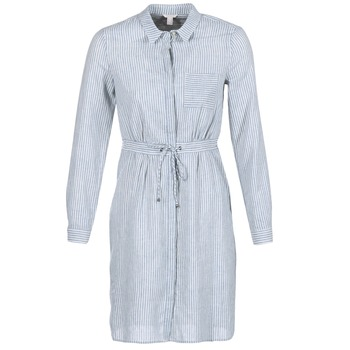 Clothing Women Short Dresses Esprit ASKOTIA Blue / White