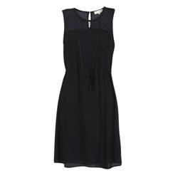 Clothing Women Short Dresses Cream DONA Black