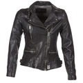 Clothing Women Leather jackets / Imitation leather Oakwood 62065 Black