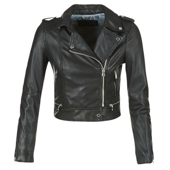 Clothing Women Leather jackets / Imitation leather Oakwood 62326 Black