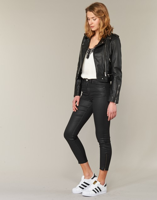 Oakwood YOKO Black - Free delivery  ! - Clothing Leather jackets / Imitation leather Women   184.00