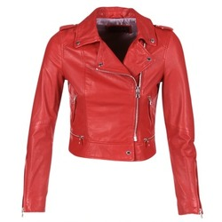 Clothing Women Leather jackets / Imitation leather Oakwood 62326 Red