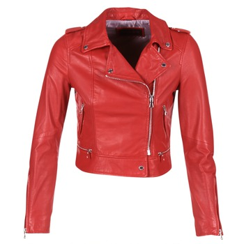 Clothing Women Leather jackets / Imitation leather Oakwood YOKO Red