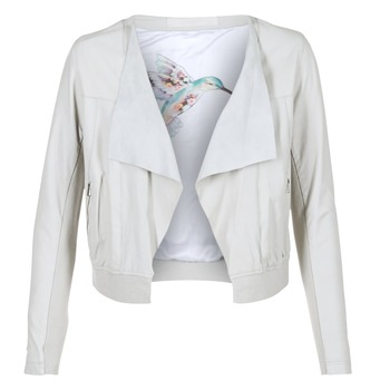 Clothing Women Leather jackets / Imitation leather Oakwood 62266 White