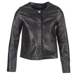 Clothing Women Leather jackets / Imitation leather Oakwood 62254 Black