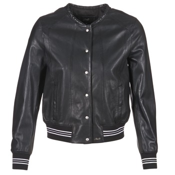 Clothing Women Leather jackets / Imitation leather Oakwood 62298 Black