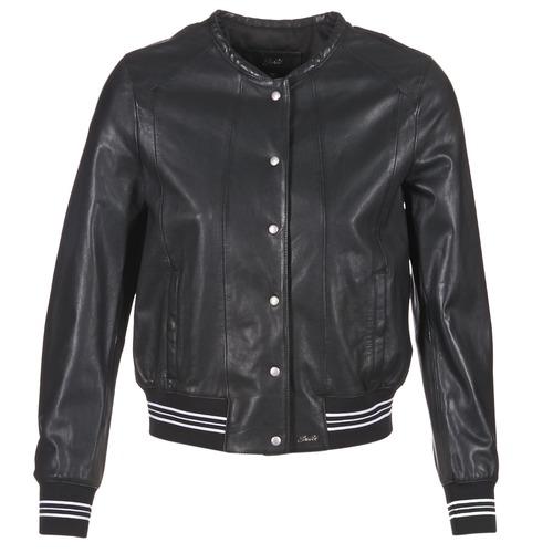 Clothing Women Leather jackets / Imitation leather Oakwood 62298 Black