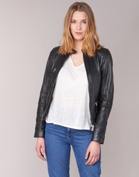 Clothing Women Leather jackets / Imitation leather Oakwood 62316 Black
