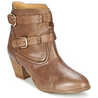 Shoes Women Ankle boots Casual Attitude SANOU Brown