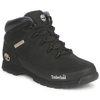 Shoes Men Mid boots Timberland EURO SPRINT Black