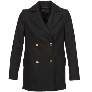Clothing Women coats Esprit WATTS Black