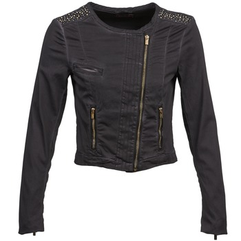 Clothing Women Jackets / Blazers Esprit PARKEL Black