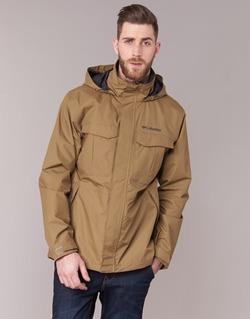 Clothing Men Parkas Columbia DR DOWNPOUR CAMEL