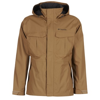 Clothing Men Parkas Columbia DR DOWNPOUR CAMEL