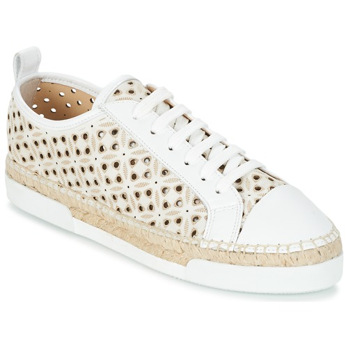 Shoes Women Low top trainers Sonia Rykiel 622348 White