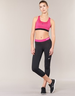 Clothing Women leggings Nike NP CL CAPRI Black / Pink