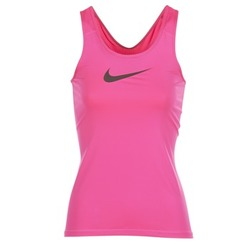 Clothing Women Tops / Sleeveless T-shirts Nike NIKE PRO COOL TANK Pink