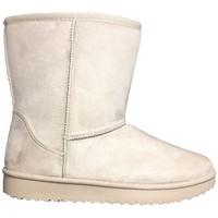 Shoes Women Mid boots Nice Shoes Boots Beige 35-755 Beige