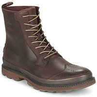 Shoes Men Mid boots Sorel MADSON WINGTIP BOOT Brown