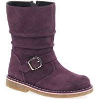 Shoes Girl Mid boots Kids At Clinks Florence Girls Infant Boots purple