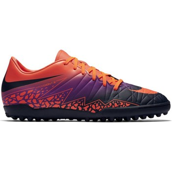 Shoes Men Football shoes Nike Hypervenom Phelon II TF Orange-Black-Violet
